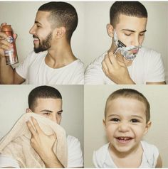 Shaved my beardddd. Damn I look so young! Adam Saleh, Adams Family, Future Boyfriend, Celebs, Celebrities, Star Fashion, I Love Him, Cute Boys, Youtubers