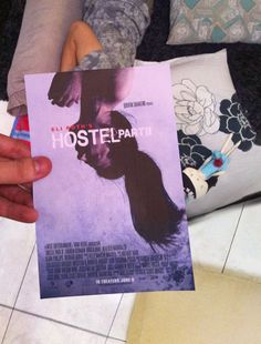 Ladies and gentlemen, slasher porn sleeping beauty. #hostel #hostelpart2 #eliroth