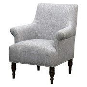 Candace Upholstered Arm Chair - Solids