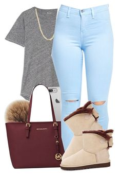 """"""""""" by deasia-still-thugin-honey ❤ liked on Polyvore featuring beauty, Madewell, Rebecca Minkoff, Michael Kors, Bianca Pratt and UGG"""