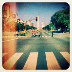 .@Afra Delgiorgio | Obelisco, Avenida 9 de Julio, Buenos Aires, Argentina. #argentina #buenosaire... | Webstagram - the best Instagram viewer