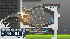 BRIDGE CONSTRUCTOR PORTAL - Level 36 to 39! (Gameplay)