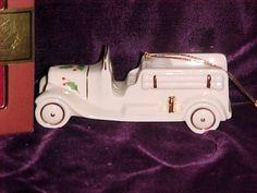 Lenox Holiday Fire Engine Christmas Ornament NEW in Box. #Lenox #Statue #Sculpture #Figurine #Decor #Gift #gosstudio .★ We recommend Gift Shop: http://www.zazzle.com/vintagestylestudio ★