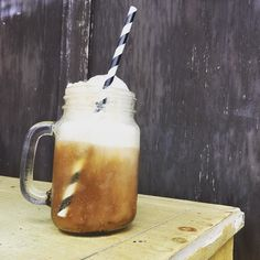 #vanilla #rootbeerfloat Yep. Hand crafted goodness.  We're open Sundays 11a-3p!!!