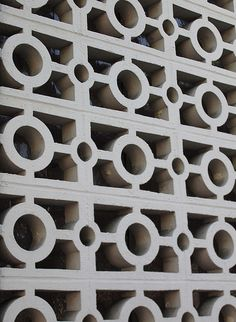 decorative concrete blocks as a dividing wall?  it has possibilities
