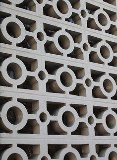 decorative concrete blocks as a dividing wall?  it has possibilities