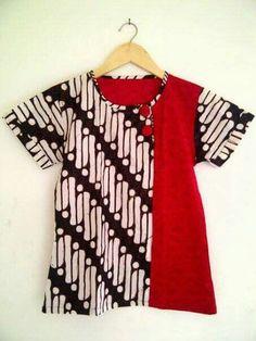 Tunic Sewing Patterns, Blouse Patterns, Blouse Designs, Batik Kebaya, Kebaya Dress, Blouse Batik, Batik Dress, Mode Batik, Khadi Kurta