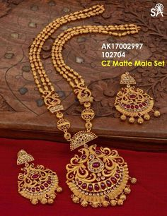 Gold Jewellery Design, Gold Jewelry, Statement Jewelry, Gold Earrings, Antique Jewelry, India Jewelry, Jewelry Patterns, Bridal Jewelry, Jewelry Collection