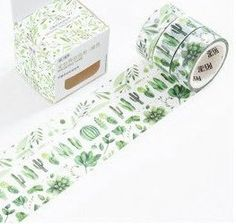 washi tape set cactus meerleuks