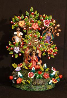Pottery Tree Oaxaca Mexico by Teyacapan, via Flickr