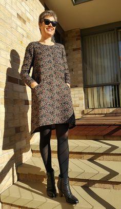 Grainline Studio Farrow Dress Line Patterns 7d7da56078cc1