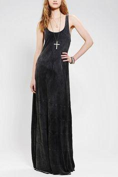 Indah Acid-Wash Maxi Dress