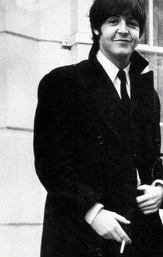 Paul McCartney, a man who wears a suit and tie as often as him, definitely has panache....