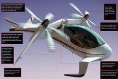 FALX Air Hybrid Tilt-Rotor Chopper | Popular Science