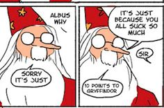 "These Hilarious ""Harry Potter"" Comics Show How Irresponsible Dumbledore Was"