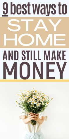 9 Legit Jobs for Stay at Home Moms or anyone can do from home as ways to make extra money.