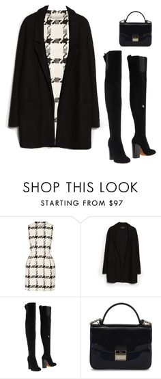 """""""Untitled #2114"""" by tayloremily218 on Polyvore featuring Alexander McQueen, MANGO, Givenchy and Furla"""