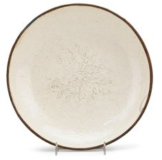 Chinese large and finely moulded Dingyao dish, Song dynasty. Photo Freeman's The dish with shallow rounded sides rising from a circular. 11th Century, The Dish, Asian Art, Art For Sale, Auction, Chinese, Plates, Ceramics, Songs