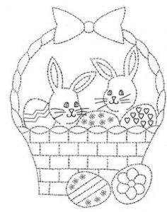 desenhos coelhinhos colorir pintura pascoa (5)