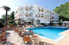 Kronos Hotel extrernal view Restaurant Offers, Hotel Offers, Mount Olympus, Pool Bar, Hotel S, Playground, Swimming Pools, Mansions, House Styles