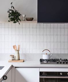would be nice to have a less cluttered kitchen counter but may not be possible with our space.