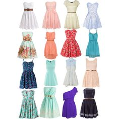 i love some of these dresses