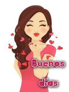 Love Is Cartoon, Love Is Comic, Cute Cartoon Girl, Cartoon Pics, Good Morning Beautiful Images, Cute Love Images, Cute Love Gif, Beautiful Gif, Happy Girl Quotes