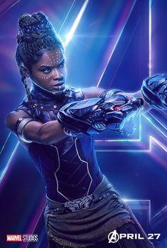 Shuri #Avengers Infinity War #Marvel #Posters