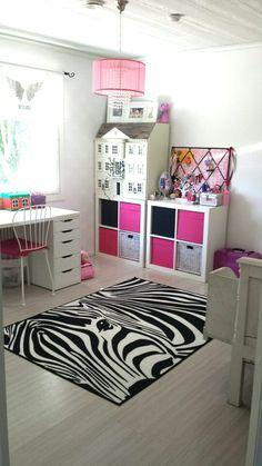 This is our elder doughter's room. #girls room #7 years old girl #tytön huone #flickans rum