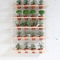 Groene inspiratie: de hangende tuin - Roomed