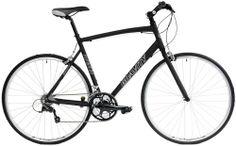 Gravity Ave FB Shimano Equipped Flat Bar Road Bike Comfort Bicycle (Yellow, 53.5cm)
