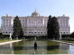 Palacio de Oriente,Madrid,España.