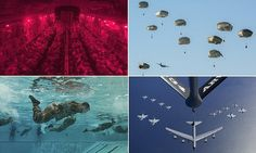 Incredible pictures show a year in the life of Air Force Airmen #DailyMail