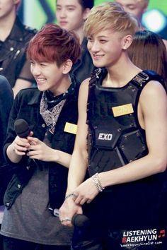 Baekhyun and Tao