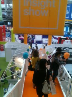 The Insight Show London, decorated with On Device Research balloons!
