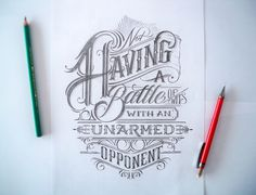 by Mateusz Witczak Very good lettering for my rebel quote tattoo