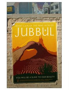 Travel Poster for Planet Jubbul The Nines, Travel Posters, Graphic Art, Novels, World, Fiction, Romans, Peace, The World