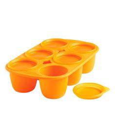 Look at this #zulilyfind! Orange Medium Babypods #zulilyfinds