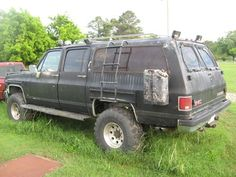 1997 Suburban K1500 4x4 Automatic Roof Rack Spotlights