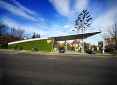 SOLAR POWERED GREEN PETROL STATION, 2013