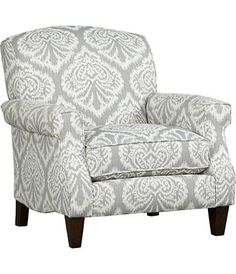 These are the type of chairs I want in my living room, probably a different color, maybe tan? Love this!