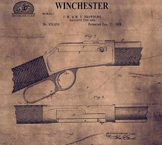 Winchester Rifle Patent