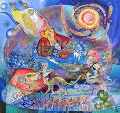 Didier Delamonica, 1950 ~ Mystical Fantasy painter
