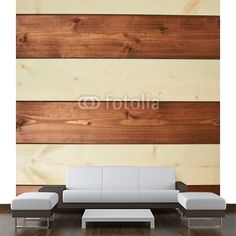 Paint coated wooden boards MaMurale.com