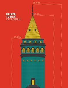 GALATA TOWER  // ISTANBUL