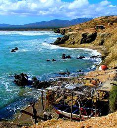 Península de Macanao, Edo. Nueva Esparta. Isla de Margarita en Venezuela