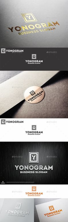 Monogram Y Logo Letter – Great logo template suitable for companies whose name starts with the letter Y.  Is a logo that can be used by different types of professionals, professionals design and photography, clothing and apparel brands in restaurants and bars, in agencies and studios, among other uses.