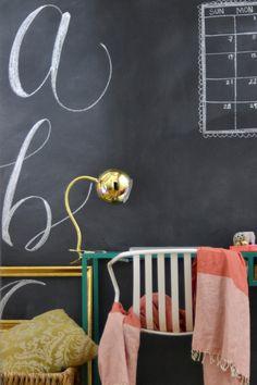 Image result for lamp chalkboard