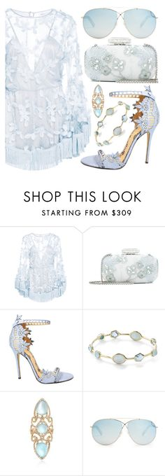 """Sky Blue Lace"" by alyssawui ❤ liked on Polyvore featuring Alice McCall, Oscar de la Renta, Marchesa, Ippolita, Ross-Simons and Tom Ford"