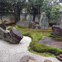 "242 Likes, 5 Comments - Rei_Tabulka (@reitabulka) on Instagram: ""Avant-garde. #Landscape designed by Mirei Shigemori. Mirei Shigemori #Garden Museum, #Kyoto in…"""